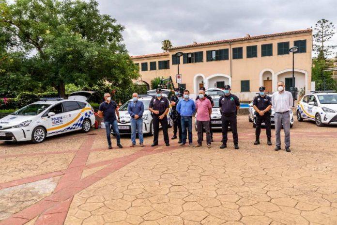 Marratxí presenta la nueva flota de vehículos para la Policía Local